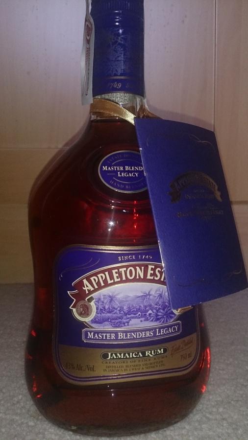 Appleton Master Blenders' Legacy Rum(MBL)