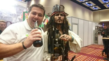 Me with Captain Jack Sparrow