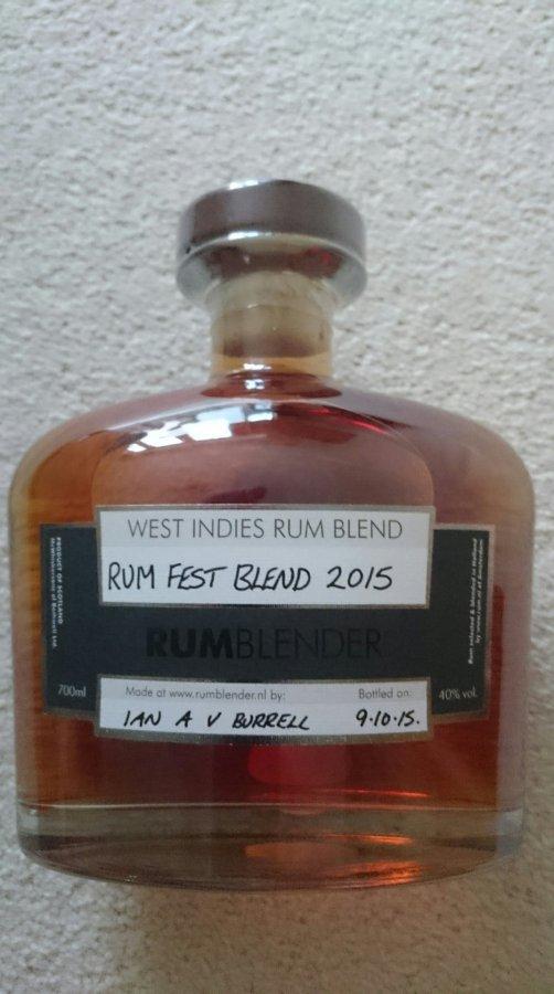 RumFest Blend 2015