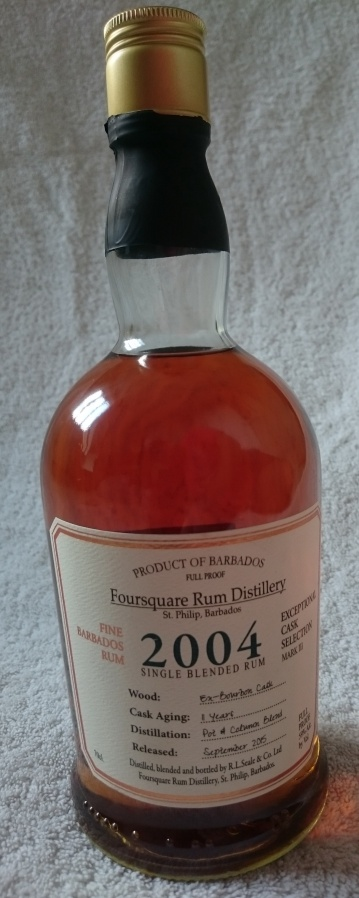 Foursquare 11 Year Old 2004 – Exceptional CaskSelection