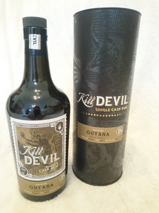 Kill Devil: Guyana, Enmore Distillery, 24 Year Old Rum