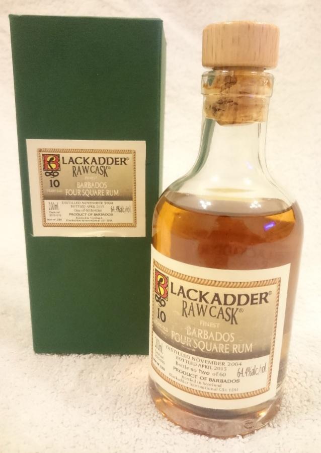 Blackadder Single Estate Rum Barbados Foursquare 2004-10yo