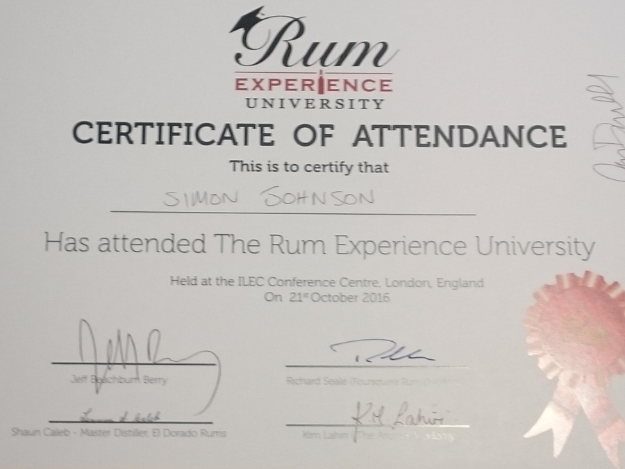 RumFest 2016: Rum University Review