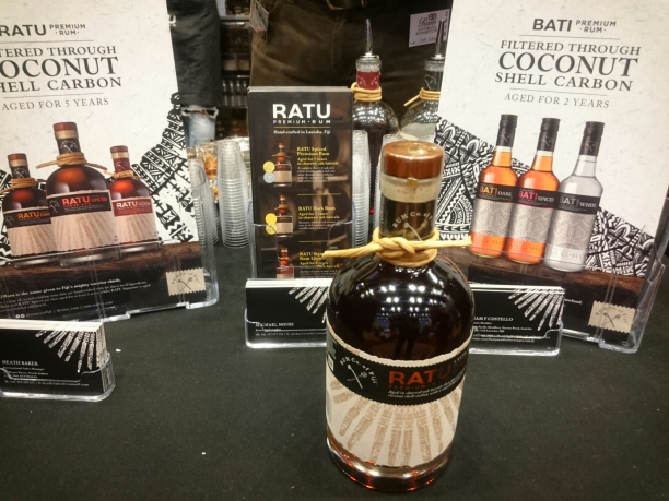 Bati and Ratu Premium Rum from Fiji