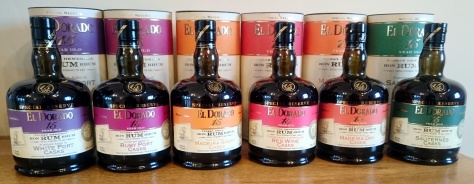 El Dorado 15yo: Cask Finishes