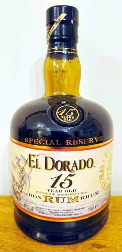 El Dorado 15yo: Bottle