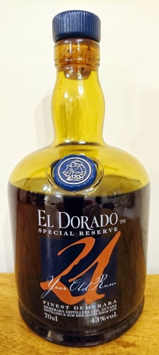 El Dorado 21yo: Bottle