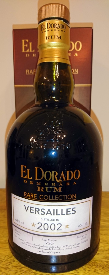 "El Dorado ""Rare"" Collection: Versailles 2002"