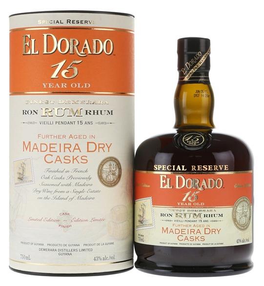 El Dorado: 15yo MADEIRA DRYFinish