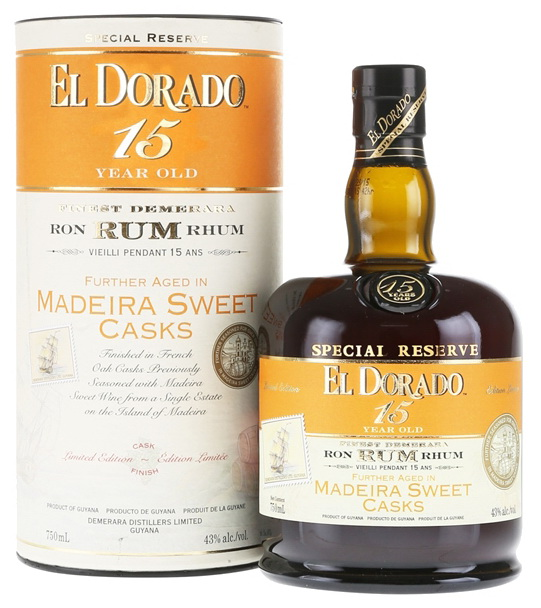 El Dorado: 15yo MADEIRA SWEET Finish