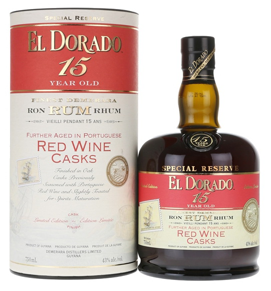 El Dorado: 15yo RED WINE Finish