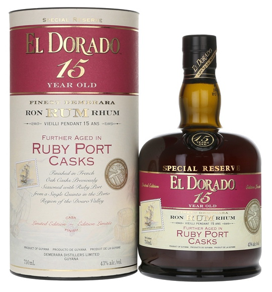 El Dorado: 15yo RUBY PORT Finish