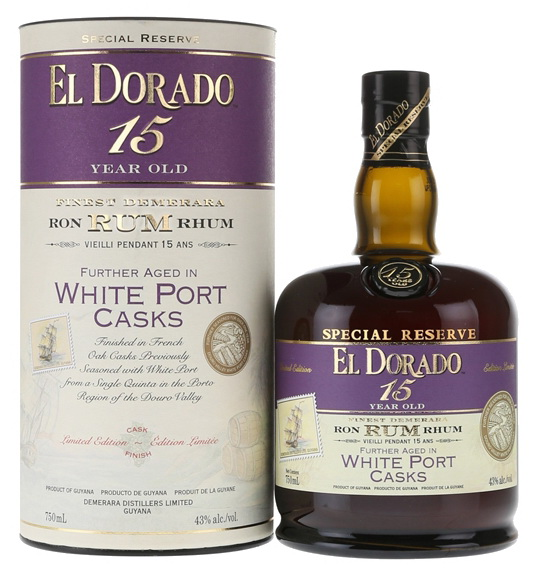 El Dorado: 15yo WHITE PORT Finish