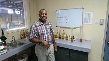 Vivian Wisdom: Hampden Distillery Manager