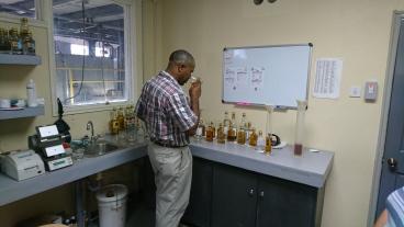 Vivian nosing rums