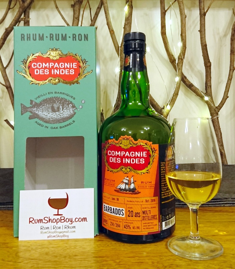 Compagnie des Indes Barbados Multi Distilleries 20yo rum