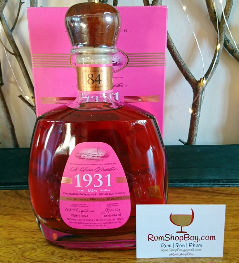 St. Lucia Distillers 1931: Fifth Edition