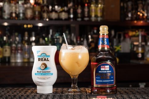 Pusser's rum and Re'al - Painkiller