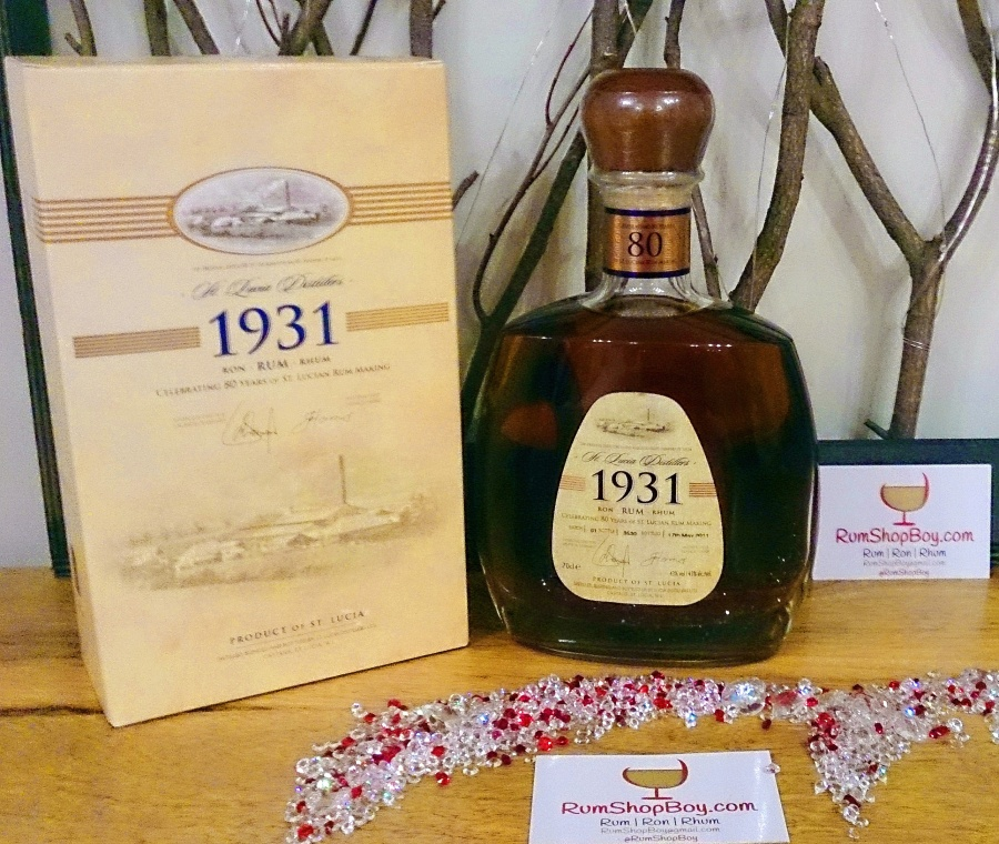St. Lucia Distillers 1931: First Edition