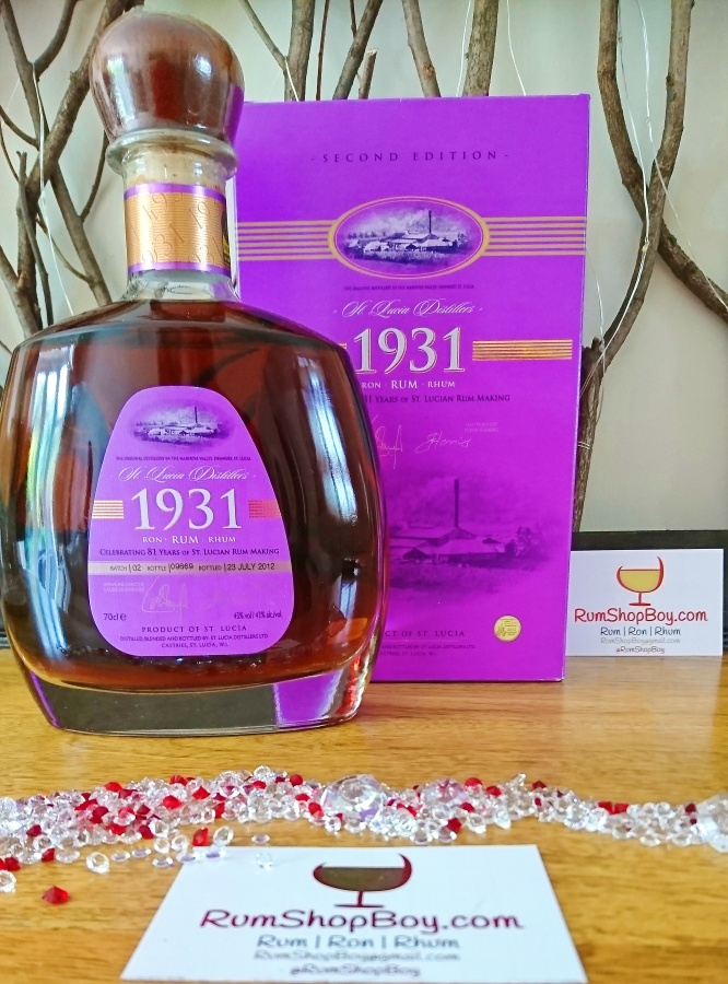 St. Lucia Distillers 1931: SecondEdition