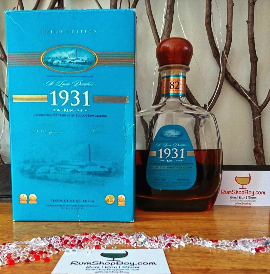 St. Lucia Distillers 1931: ThirdEdition
