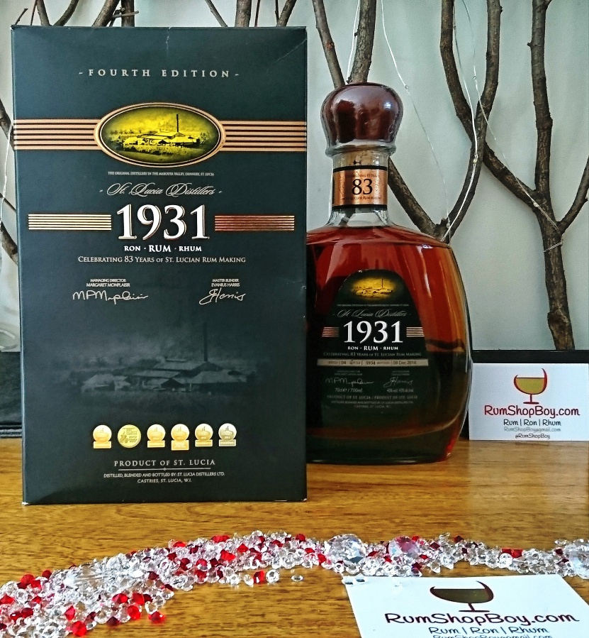 St. Lucia Distillers 1931: FourthEdition
