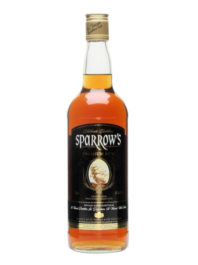 Sparrow's Premium Aged Rum: Bottle