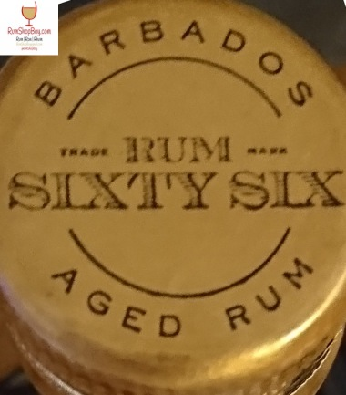 Rum Sixty Six (Cask Strength) Bottle Top