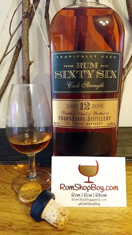 Rum Sixty Six (Cask Strength)