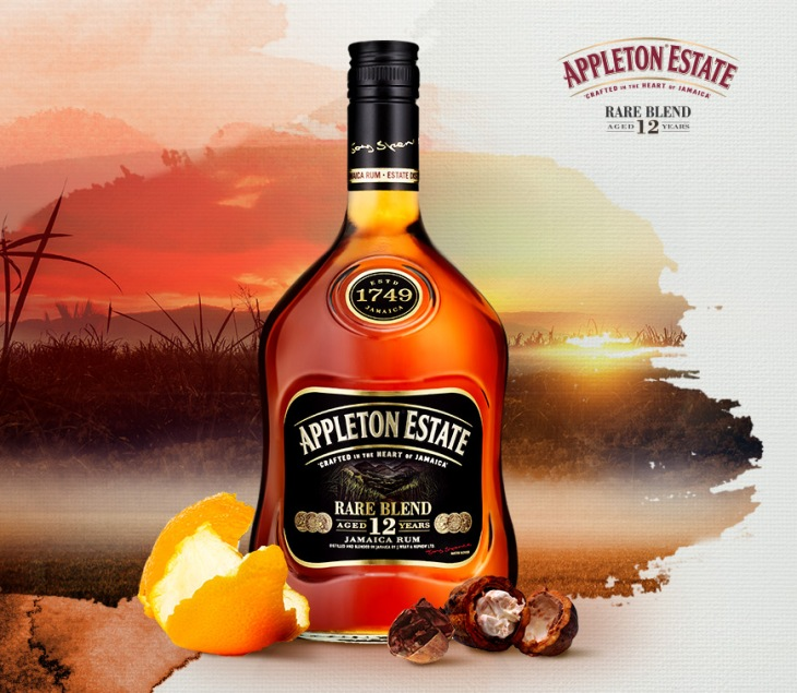 "Appleton 12yo ""Rare Blend"" Rum Jamaica Bottle"