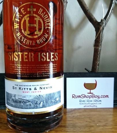 Sister Isles Reserva Rhum: Bottle