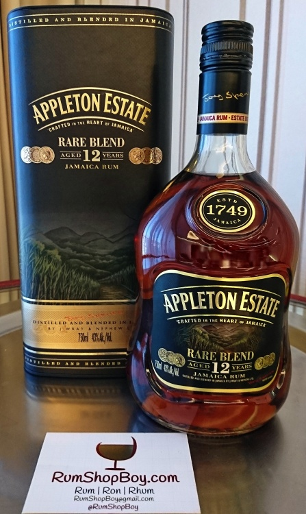 "Appleton 12yo ""Rare Blend"" Rum: Tin & Bottle"