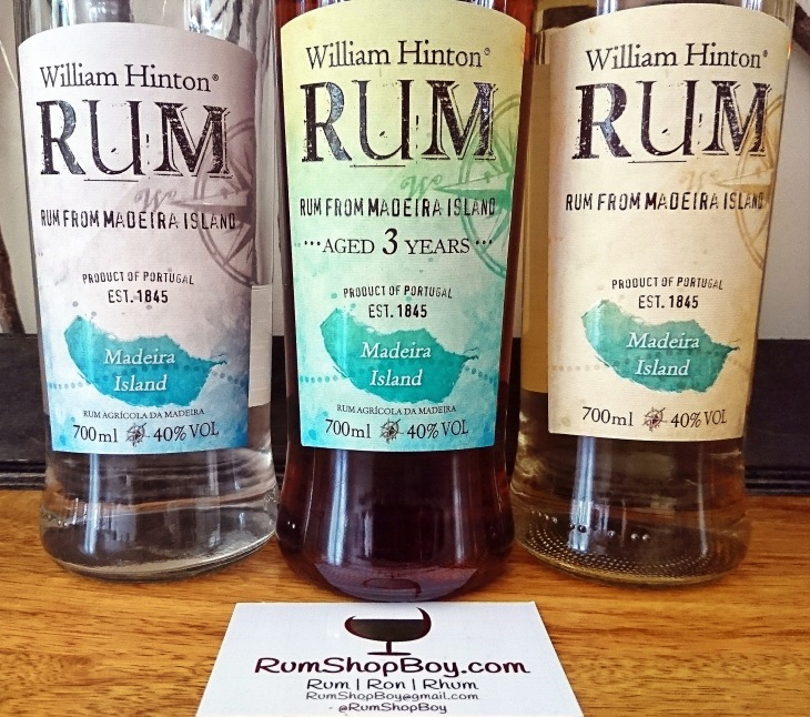 William Hinton White, Gold & 3yo Rum