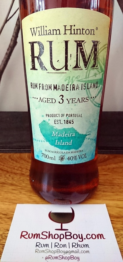 William Hinton 3yo: Bottle