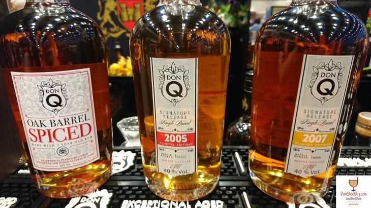 Don Q: Spiced, 2005 & 2007: Bottles