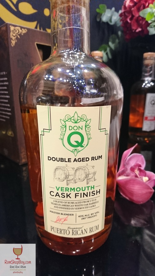 "Don Q Sweet Vermouth Cask ""Finish"""