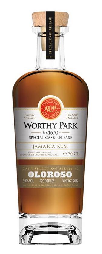 Worthy Park: Oloroso Cask Finish: Bottle