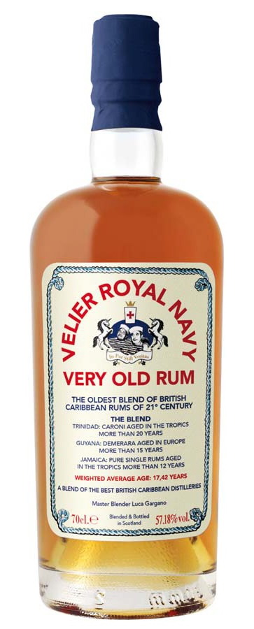 Velier Royal Navy Very Old Rum: Bottle (Photo From Internet)