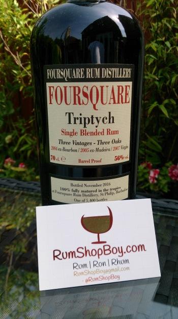 Foursquare Triptych: Bottle