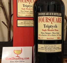 Foursquare Triptych: Box & Bottle