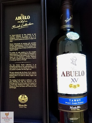 Ron Abuelo: XV Tawny Cask Finish: Box & Bottle