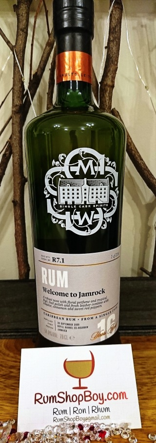 "SMWS R7.1: ""Welcome to Strawberry Jamrock. Yeah Mon"": Bottle"