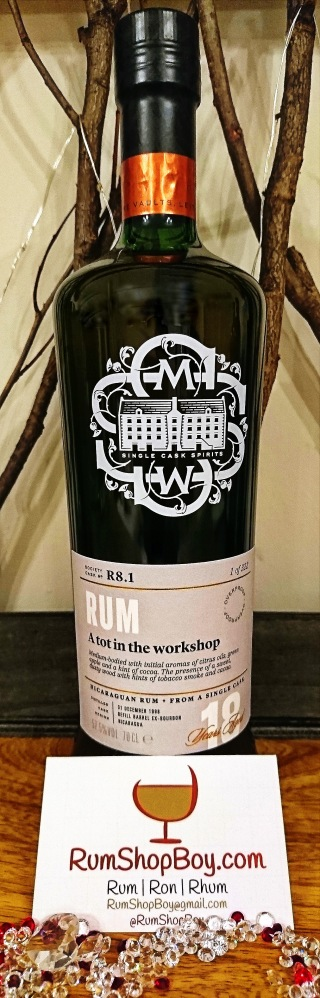 """SMWS R8.1: """"A Tot In The Workshop"""": Bottle"""