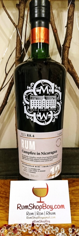 "SMWS R8.4: ""Autumn Campfire in Nicaragua"": Bottle"