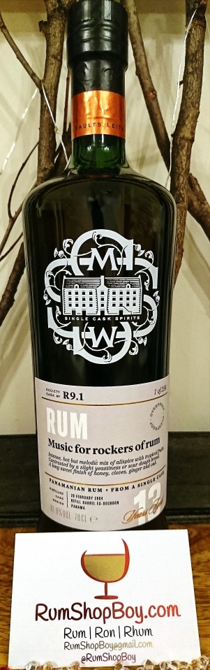"SMWS R9.1: ""Music For Rockers of Rum"": Bottle"