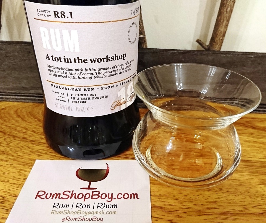 "SMWS R8.1: ""A Tot In The Workshop"""