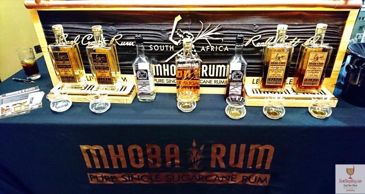 Mhoba Rum: Bottles at UK Rumfest 2017