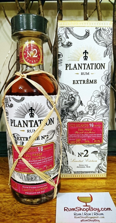 Plantation Extrême No. 2: Fiji Islands 16yo Rum