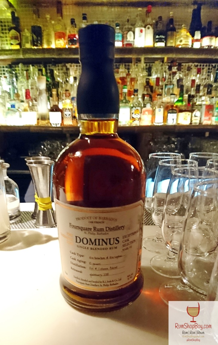 Foursquare: Exceptional Cask Exceptional Cask Selection VII: Dominus: Bottle