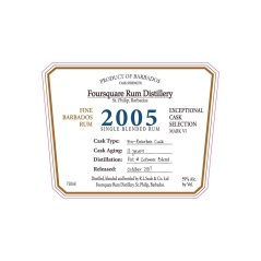 Foursquare: Exceptional Cask Selection VI: 2005: US Label (Photo from Internet)